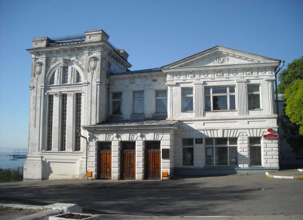 Здание областной филармонии в Ульяновске