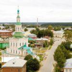Город Тотьма в Вологодской области