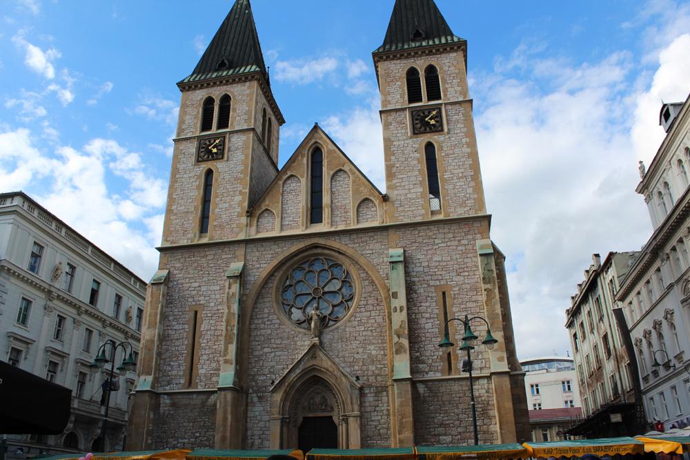 Собор Святейшего Сердца Иисуса в Сараево, Босния и Герцеговина