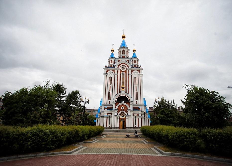 Собор Успения Божьей матери в Хабаровске