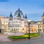 Город Лодзь в Польше