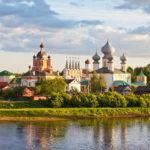 Город Тихвин в Ленинградской области