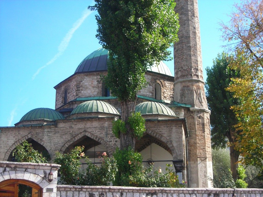 Мечеть Башчаршия-Джамия в Сараево