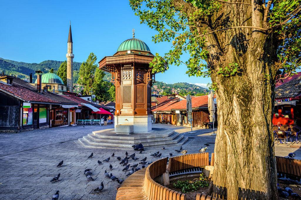 Фонтан Себиль в г.Сараево