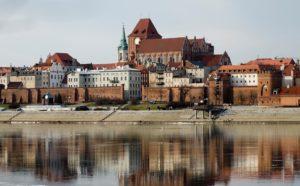 Город Торунь в Польше
