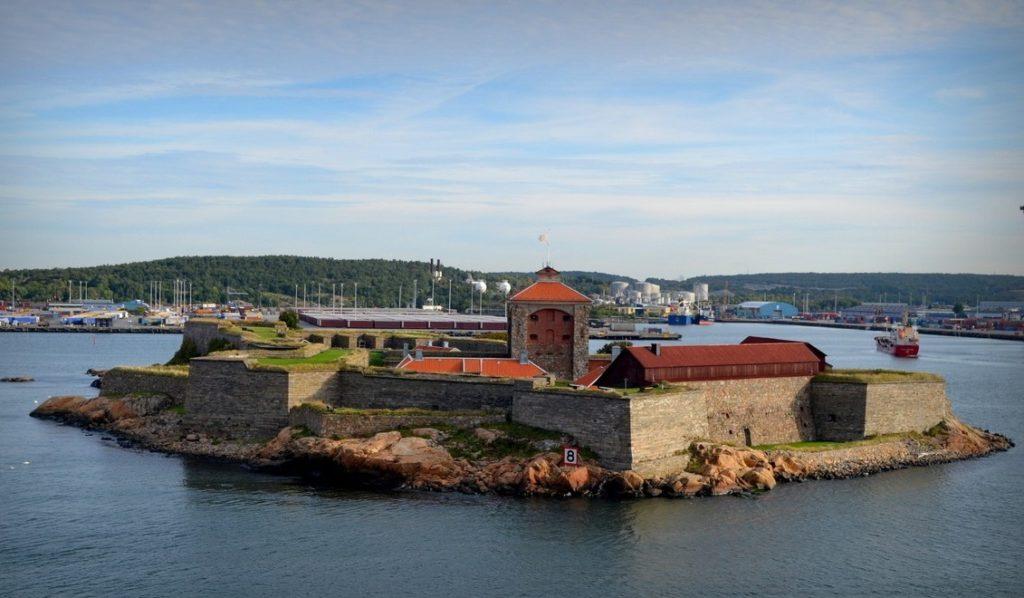 Крепость Эльфсборг в Гетеборге
