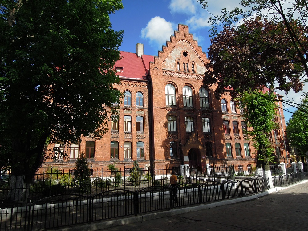 Тильзитская классическая гимназия в Советске
