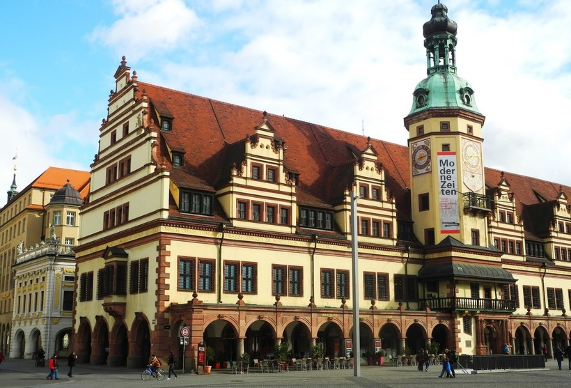 Старая ратуша Лейпцига