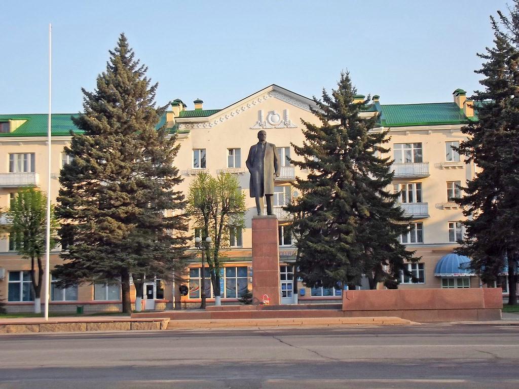 Площадь Ленина в Барановичах