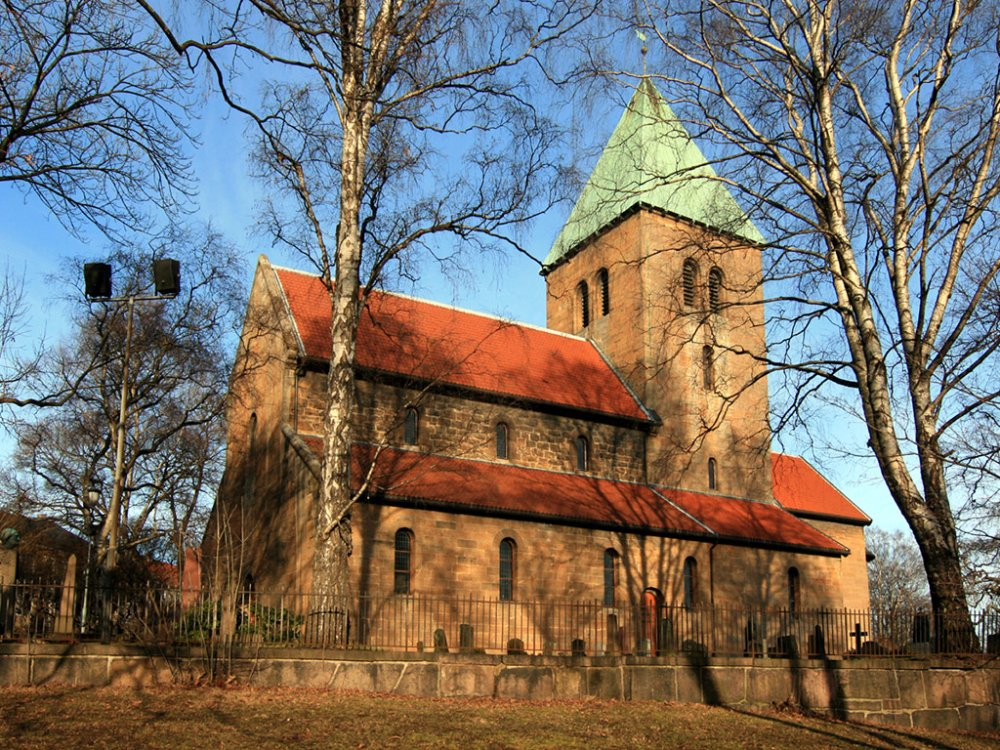 Церковь старого Акера в Осло