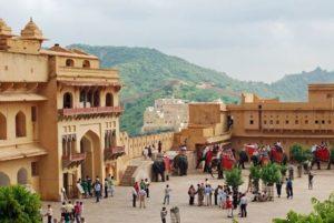 Город Джайпур в Индии
