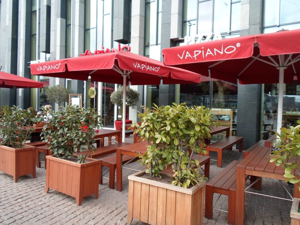 """Кафе """"Вапиано"""" в Лейпциге"""