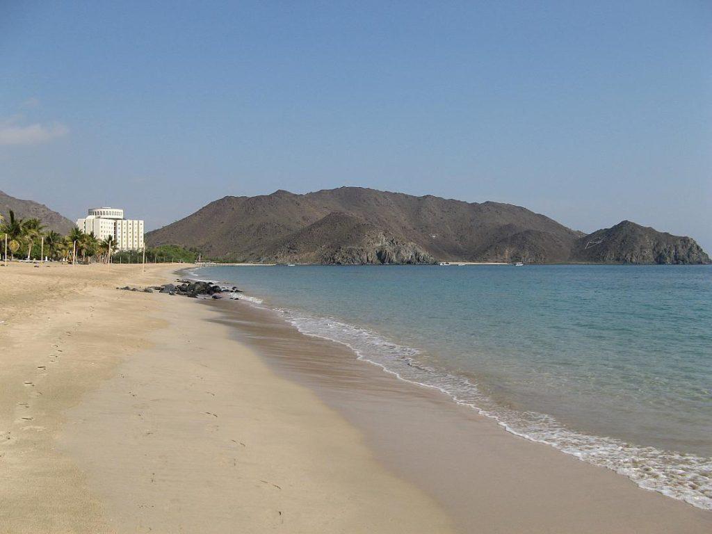 Пляж Корфаккан близ Фуджейры