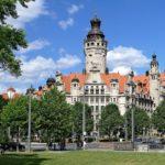 Город Лейпциг в Германии