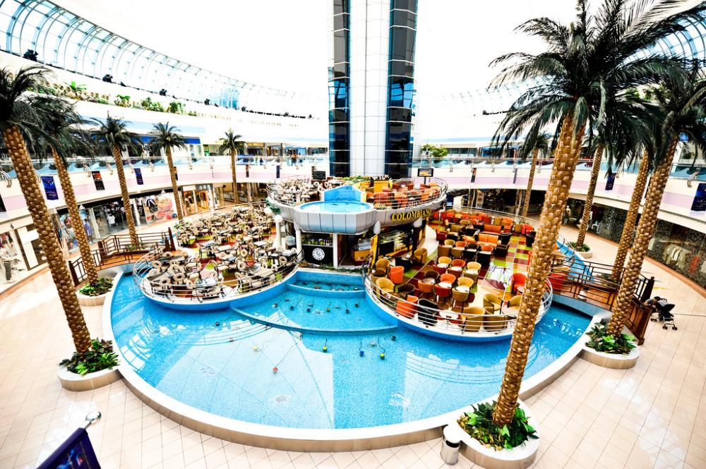 """Торговый центр """"Марина Молл"""" в Абу-Даби"""