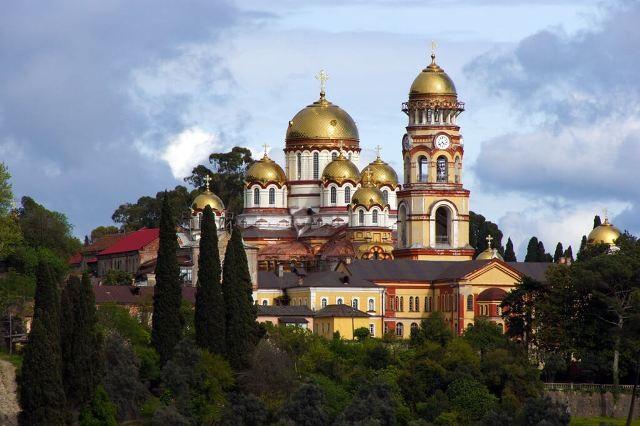 Монастырь Святого Апостола Симона Кананита в Новом Афоне
