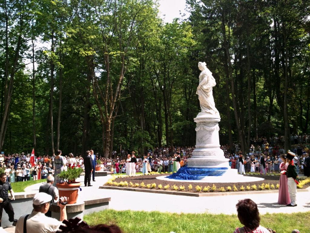 Памятник королеве Луизе в Советске