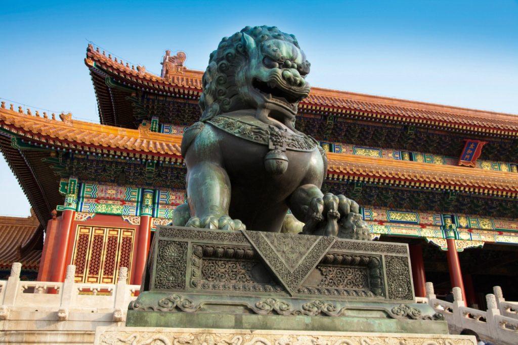 Город Пекин в Китае