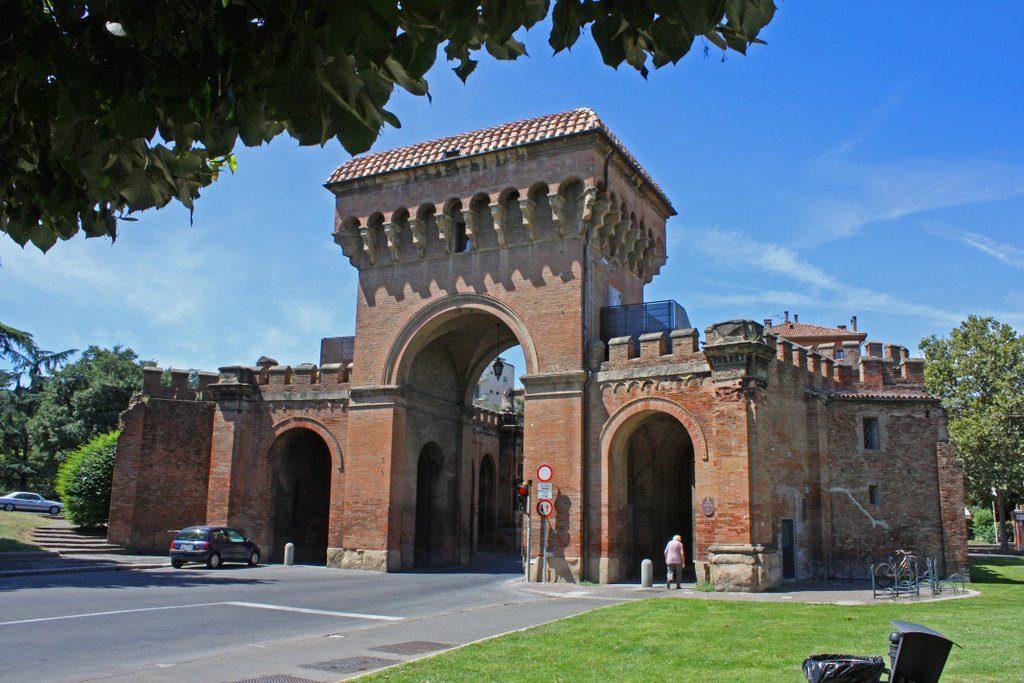 Сарагосские ворота Болоньи