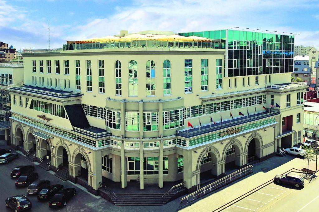 """Отель """"Евразия"""" в Тюмени"""