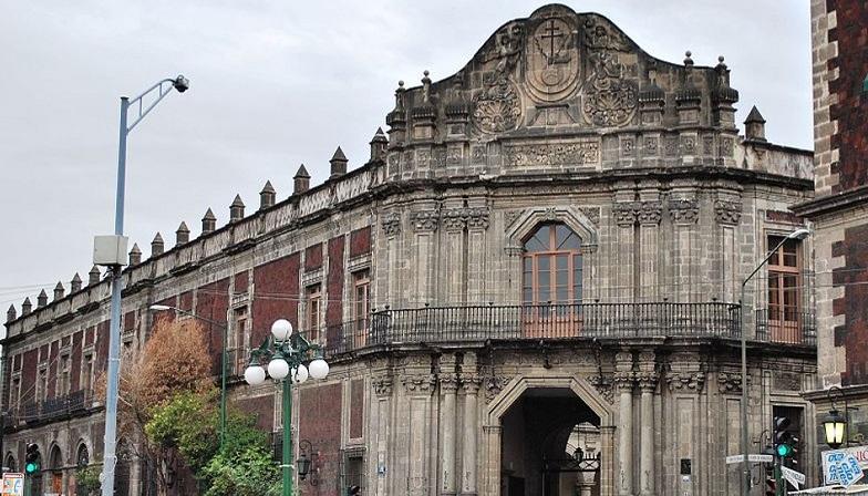 Дворец инквизиции в Мехико