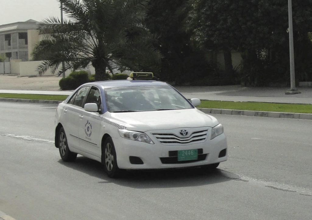 Такси в Аджмане, ОАЭ