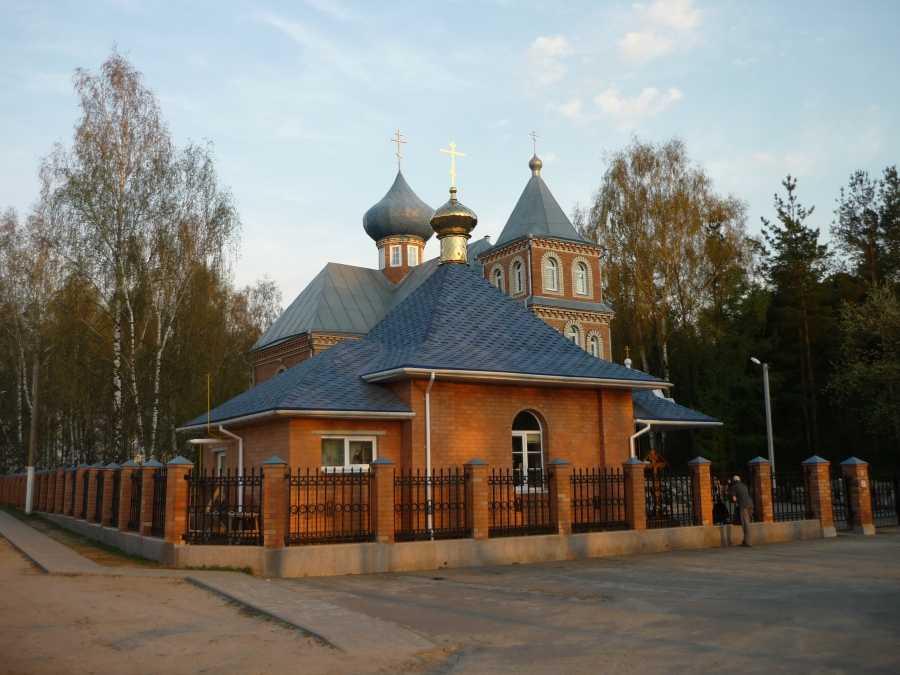 Рождественский храм в Борисове