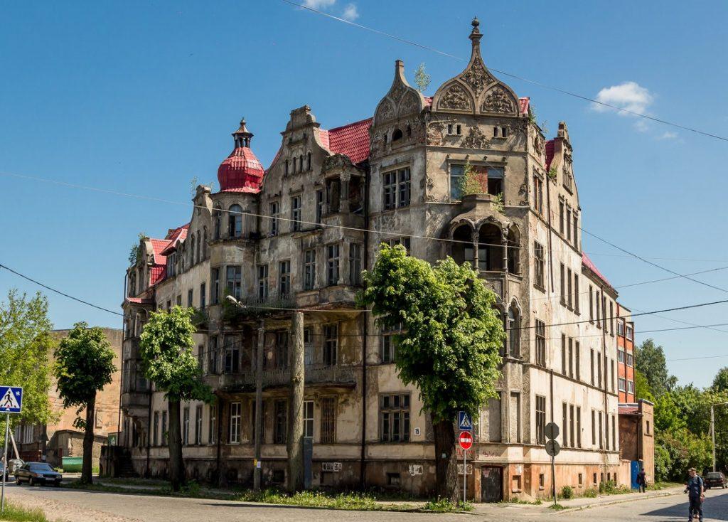 Дом, в котором родился Армин Мюллер-Шталь, Советск
