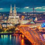 Город Кёльн в Германии