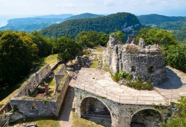 Анакопийская крепость в Новом Афоне