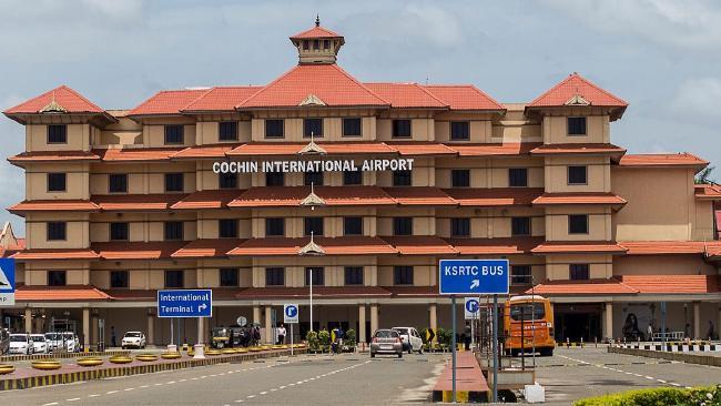 Аэропорт в Коччи, Керала, Индия