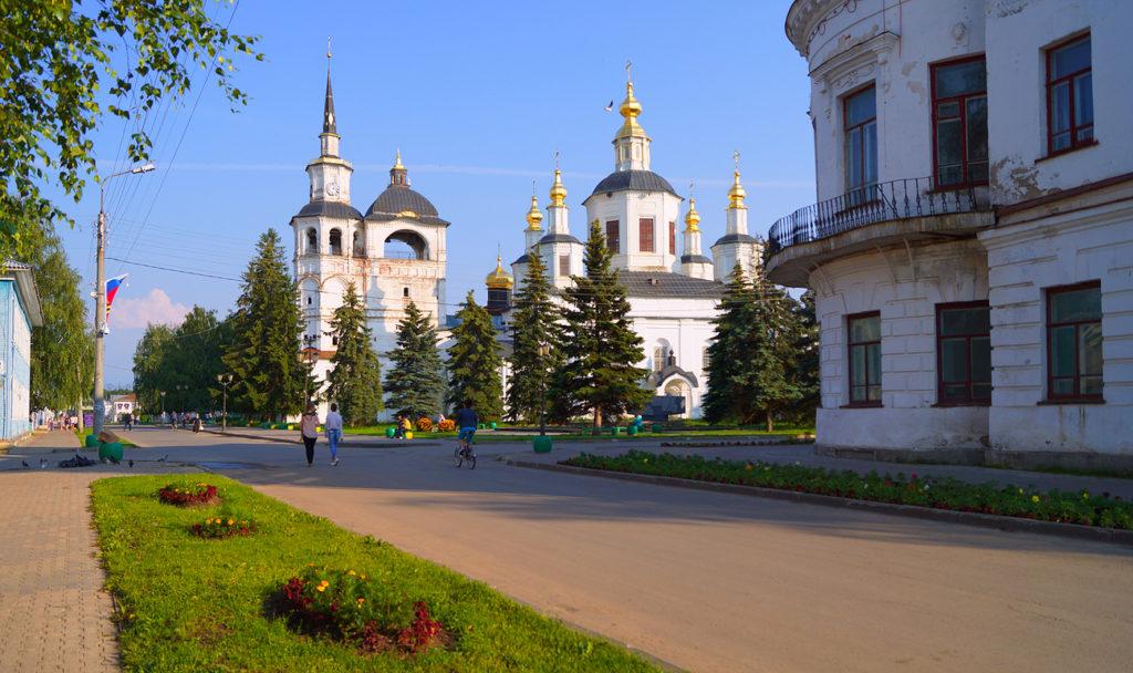 Соборное дворище в Великом Устюге
