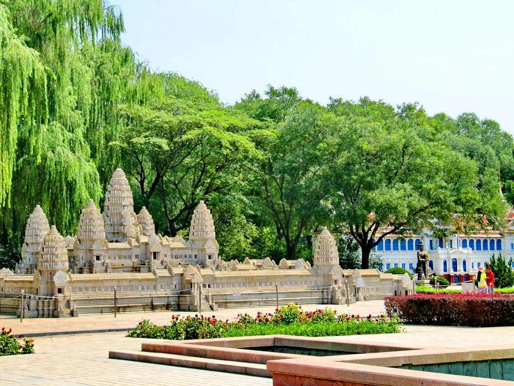Парки Мира в Пекине