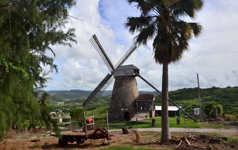 Сахарный завод в Морган-Льюис, Барбадос