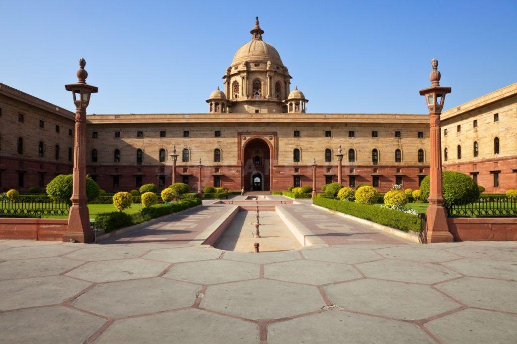 Резиденция Президента в Нью-Дели