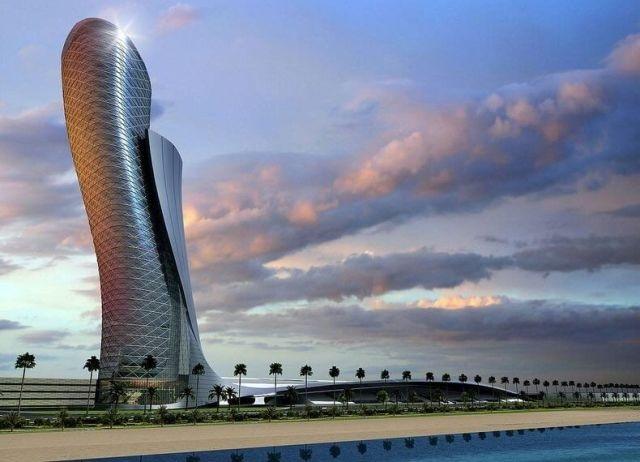 Небоскрёб «Падающая башня» в Абу-Даби