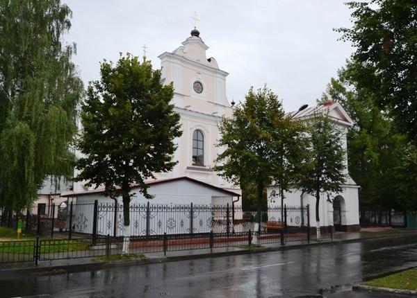 Свято-Варваринская церковь в Пинске