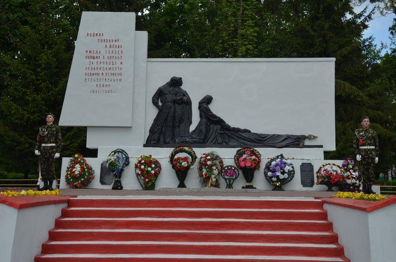 Мемориальный комплекс освободителям города Пинска