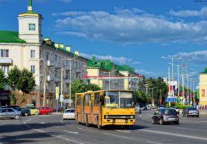 Город Барановичи в Беларуси