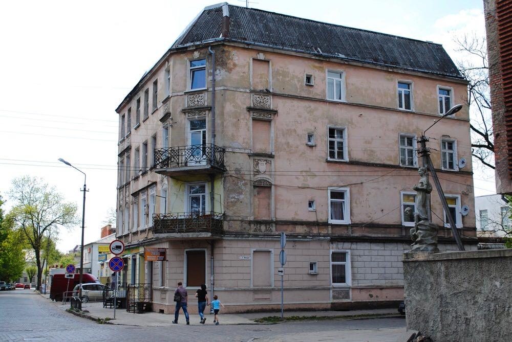 Здание масонской ложи «К трем патриархам» в Советске