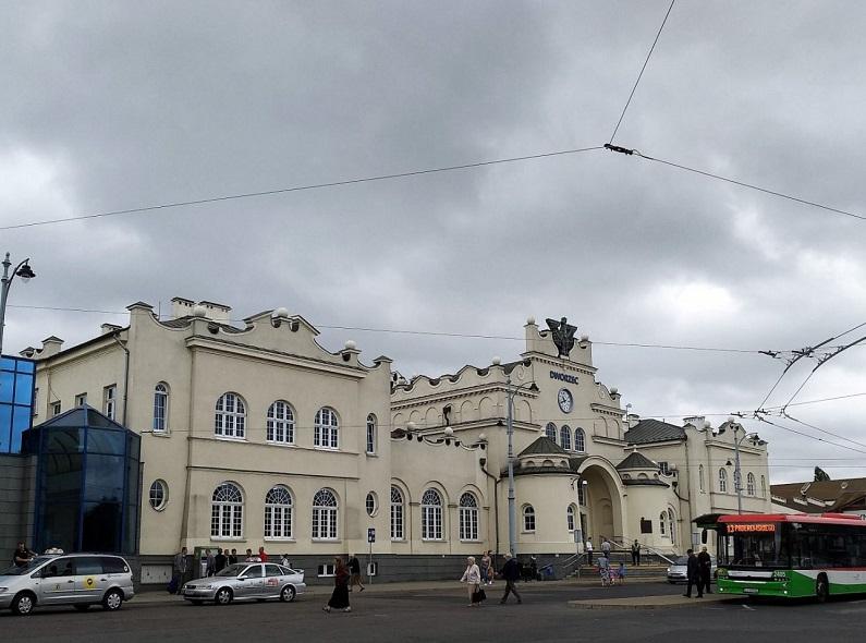 Железнодорожный вокзал Люблина