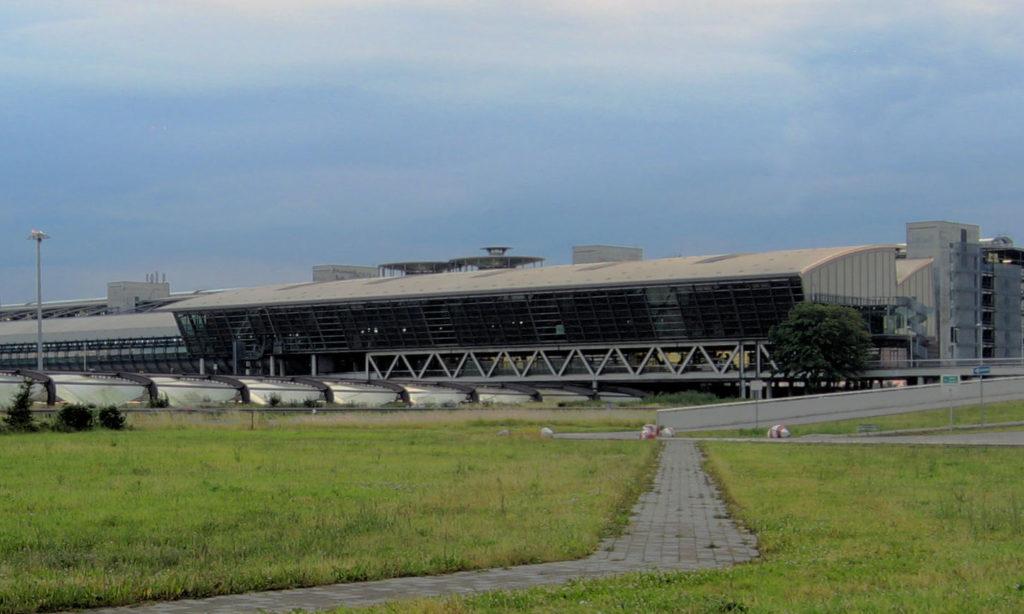 Аэропорт Лейпциг/Галле в Шкойдице