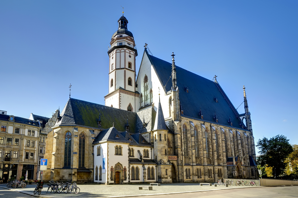 Церковь Святого Фомы в г.Лейпциг