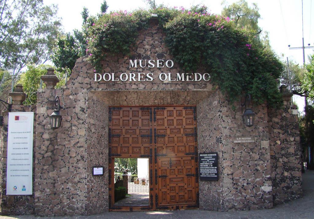 Музей Долорес Ольмедо в Мехико