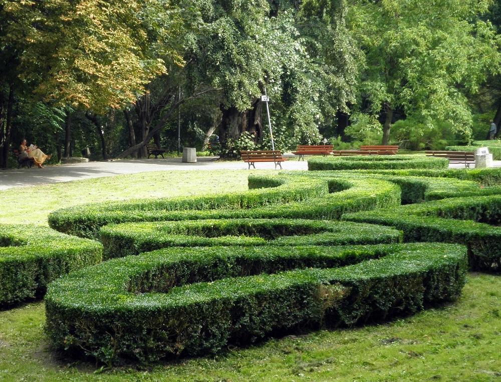 Саксонский парк в Люблине