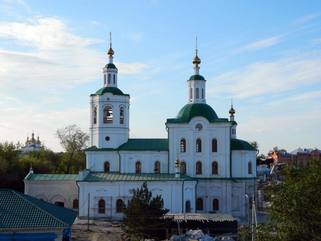 Вознесенско-Георгиевский храм в Тюмени