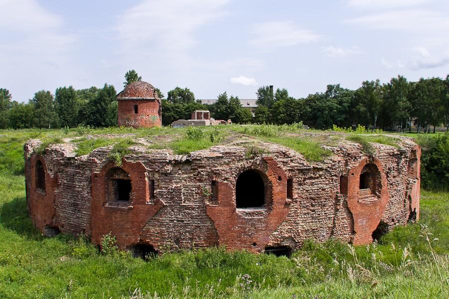 Бобруйская Крепость в Беларуси