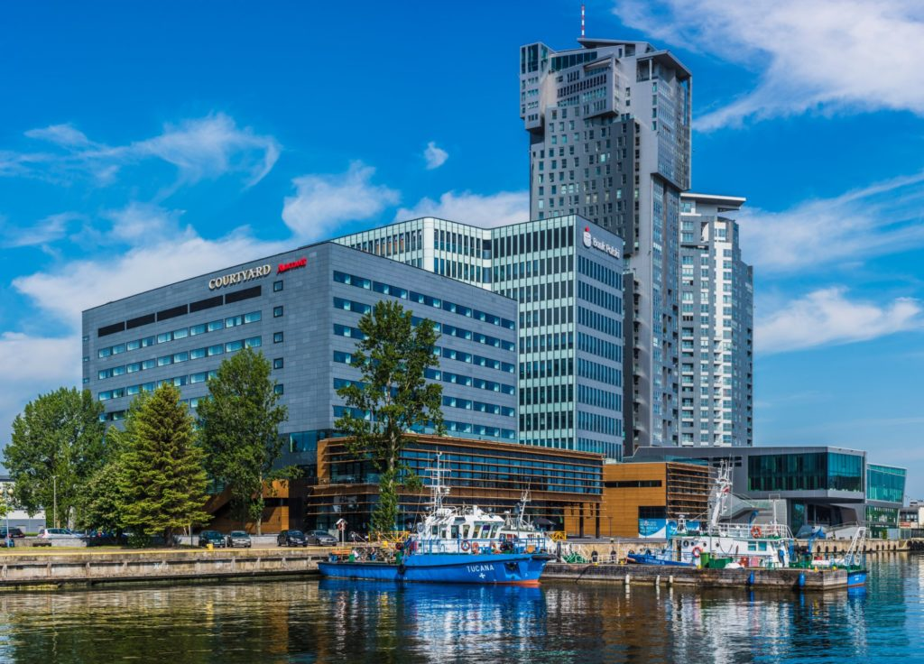"Отель ""Courtyard by Marriott Gdynia Waterfront"" в Гдыне"