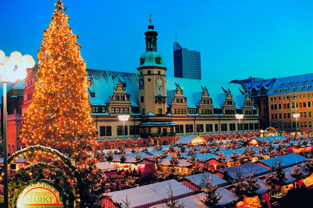Рождественский шоппинг в Лейпциге