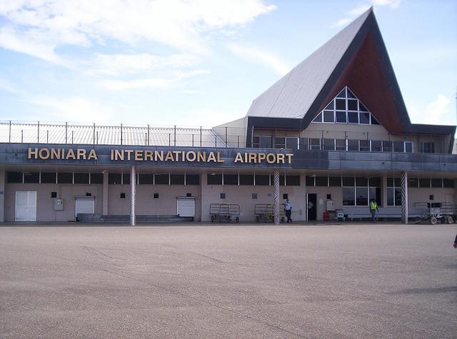 Аэропорт Хониары, Соломоновы острова